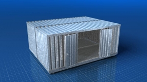 Sicherheitscontainer - Rendert by www.greenmamba-studios.de