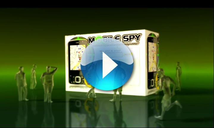 Mobile Spy – Motion-Grafik – TV-Spot