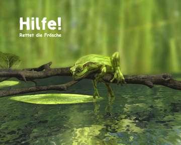 3D Visualisierung, Frösche, 3D Frösche, Frog, www.greenmamba-studios.de
