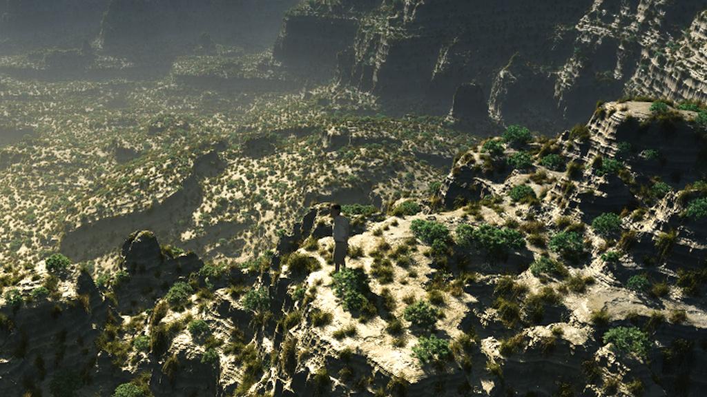 Canyon für ein Computergame