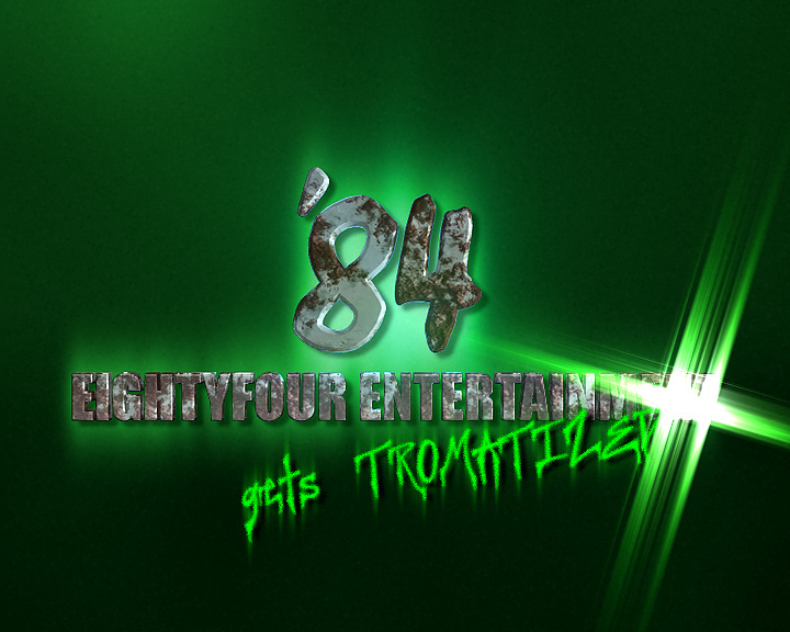 84 Entertainment – Logoanimation für die Troma-Serie