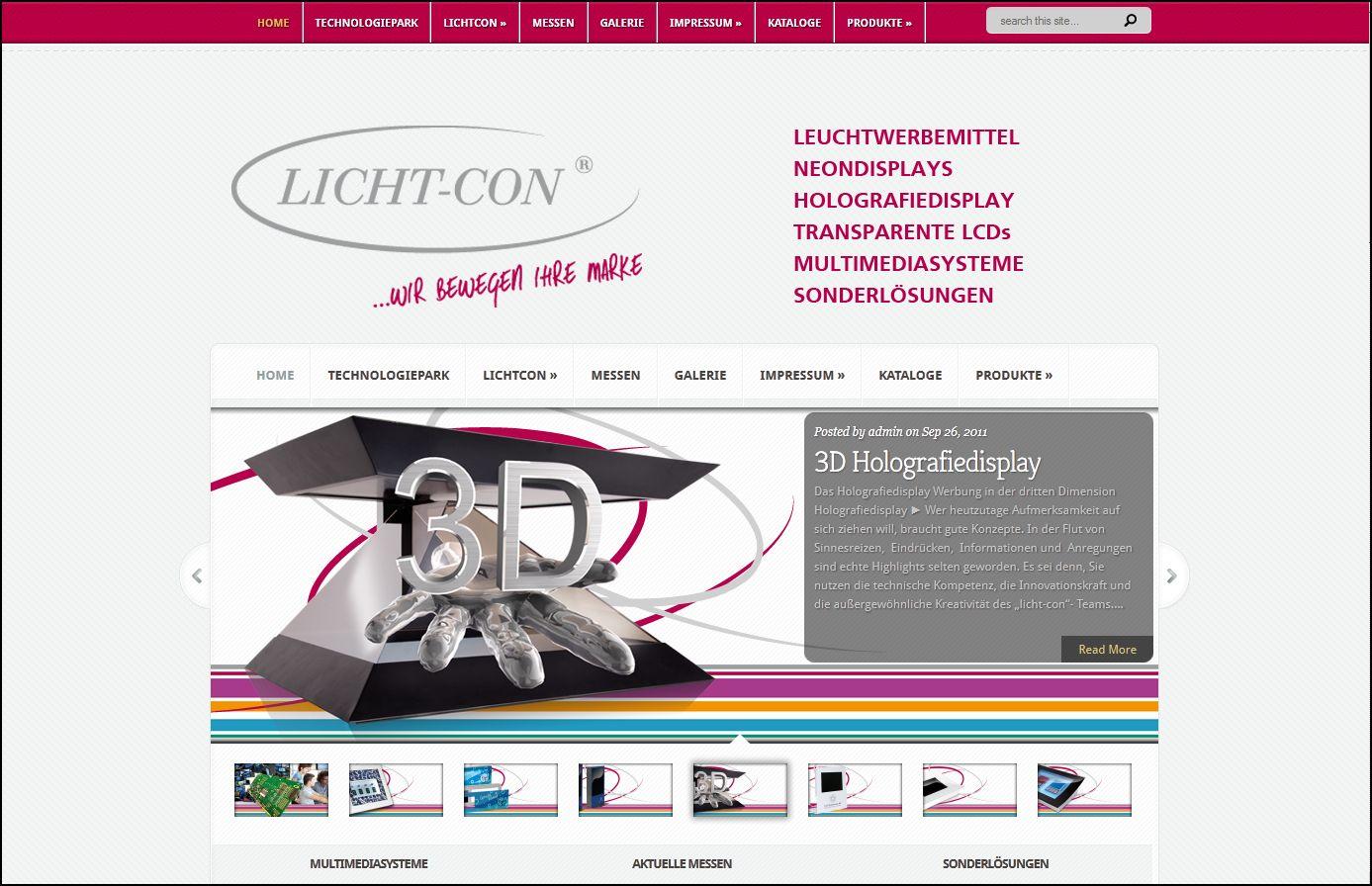 Neues Design für Licht-Con