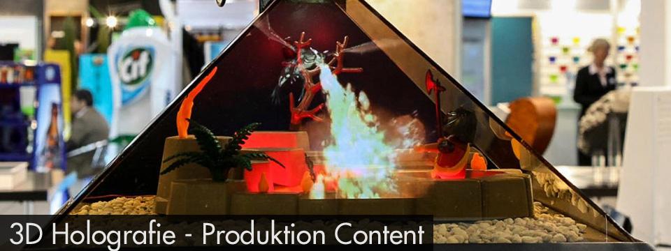 www.greenmamba-studios.de, Virtual 3D Holograph,