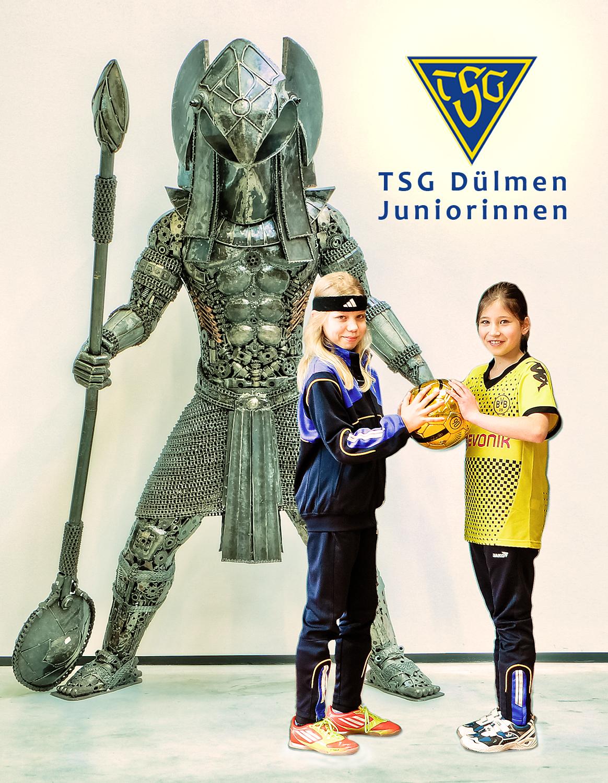 Juniorinnen TSG Dülmen, www.tsg-duelmen.de, Juniorinnen Fußball, Mächenfussball