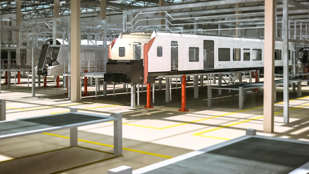 Industrieanimation – Siemens Tecnomatix