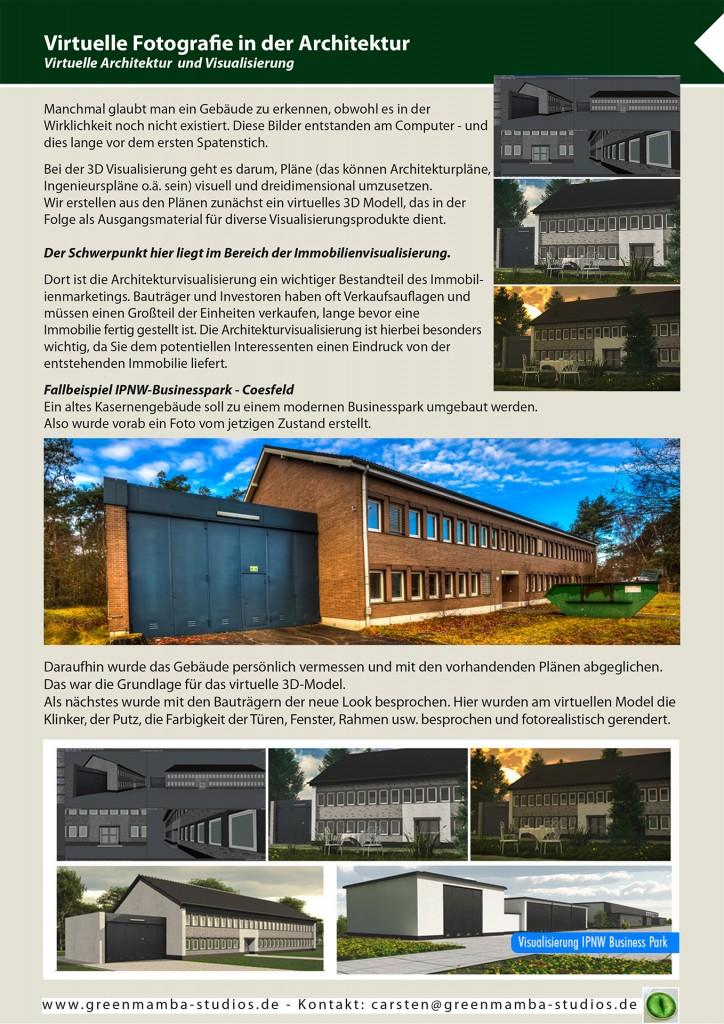 Architektur Visualisierung, 3D-Gebäude Visualisierung, Dülmen
