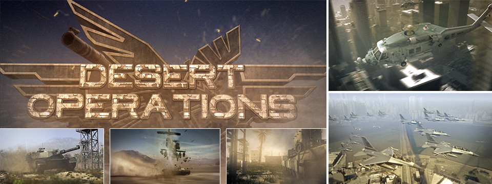 3D-Trailer – Desert Operations