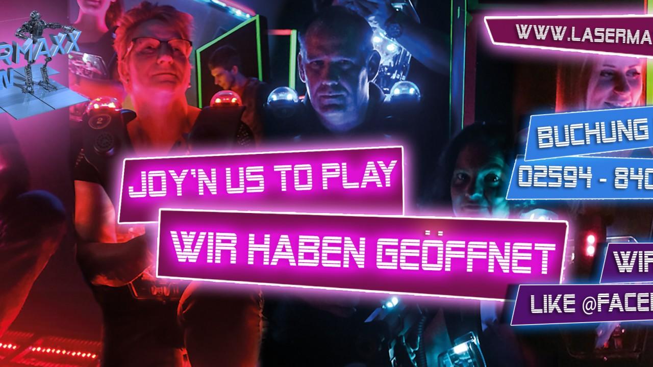 Lasermaxx Facebook - Werbeagentur Dülmen, Greenmamba-Studios, Marketing, Fotografie, Design