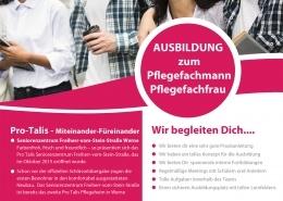 Pro-Tails Ausbildung - Pflegefachmann, Pflegefachfrau